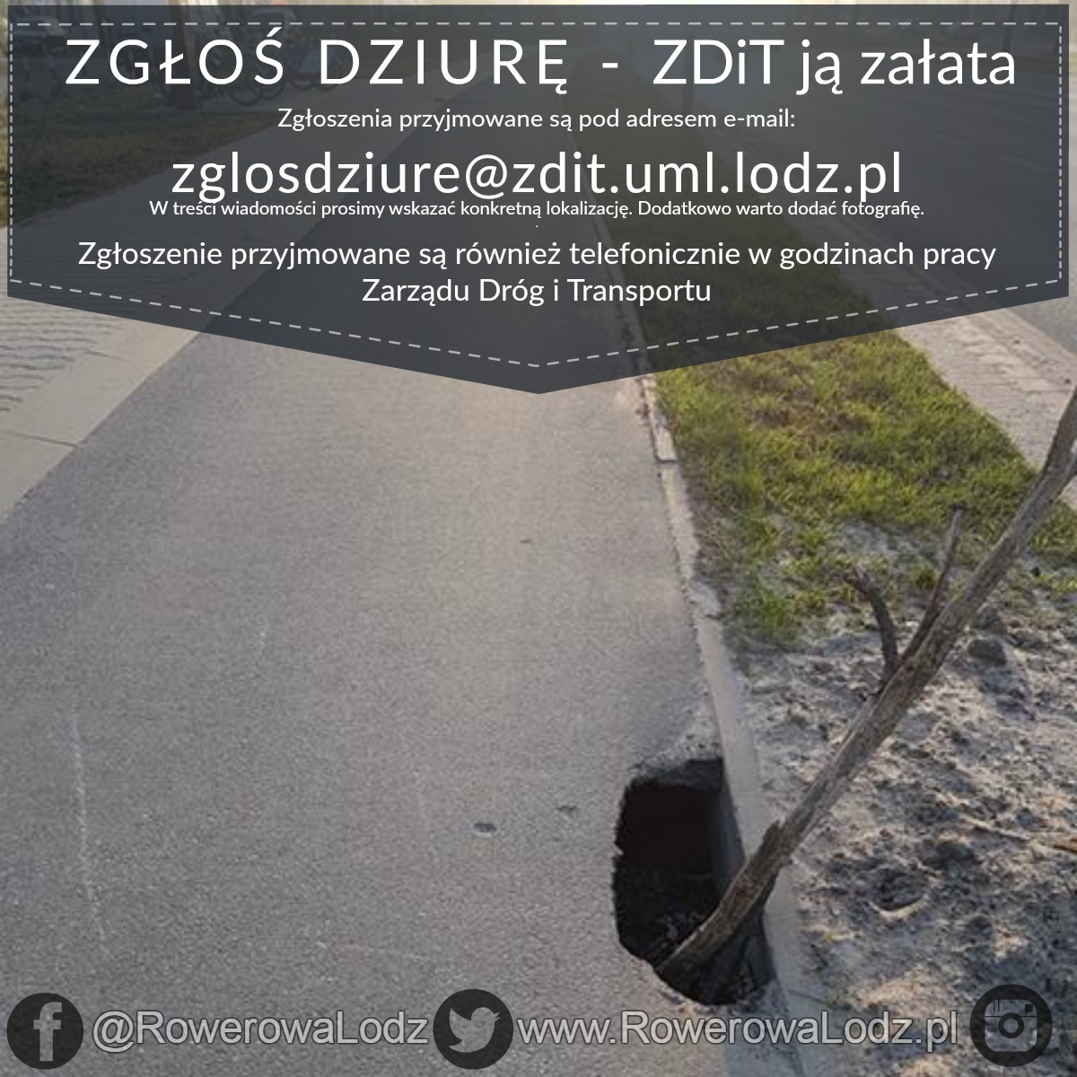 zglos dziure do ZDiT
